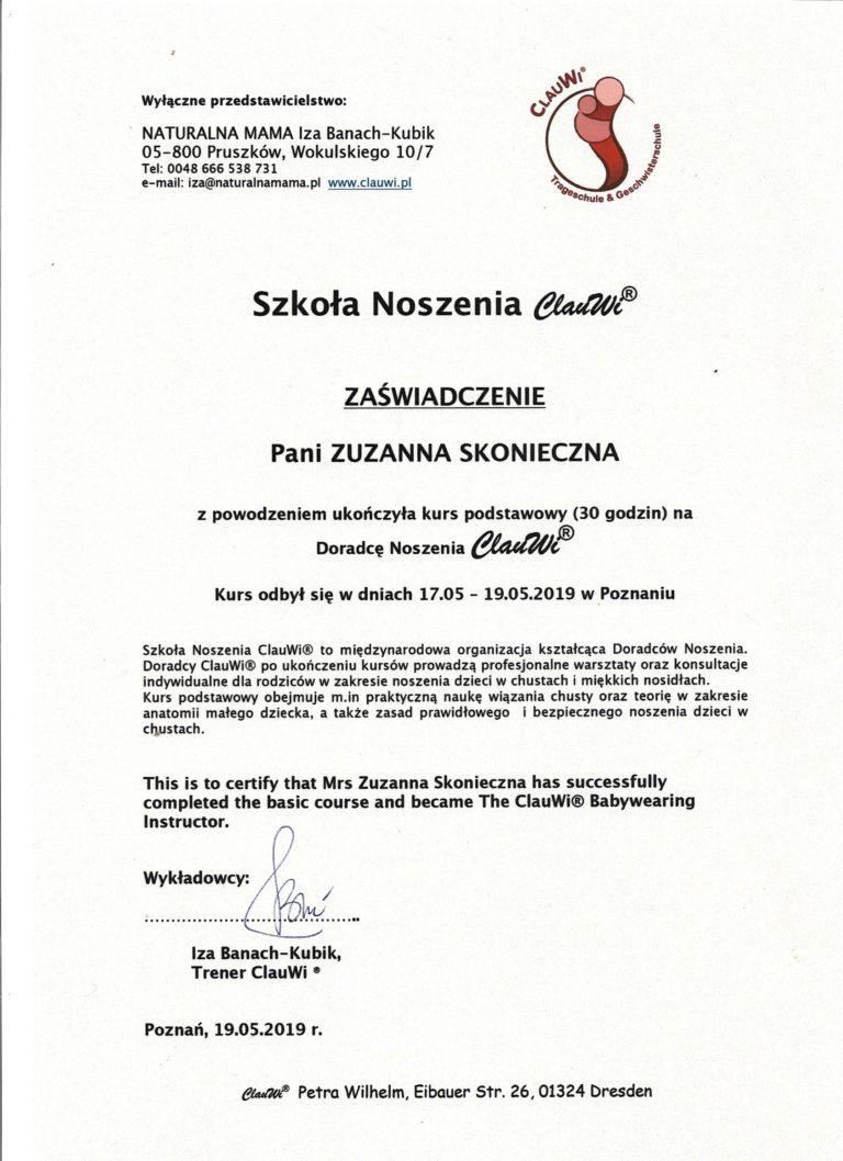 Dyplom ClauWi