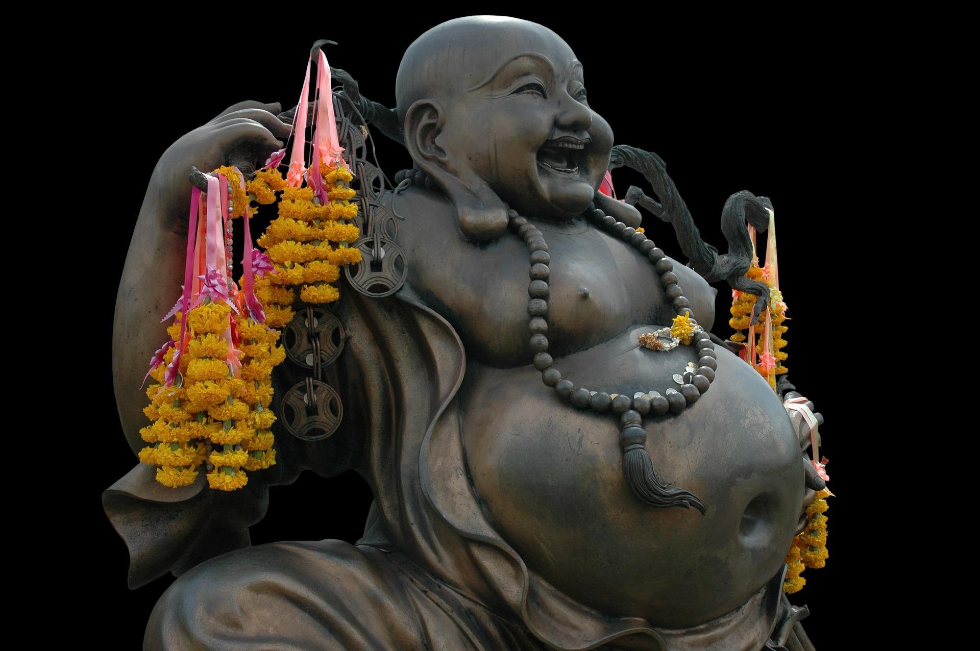 Otyłość i redukcja masy ciała - Budda z dużym brzuchem