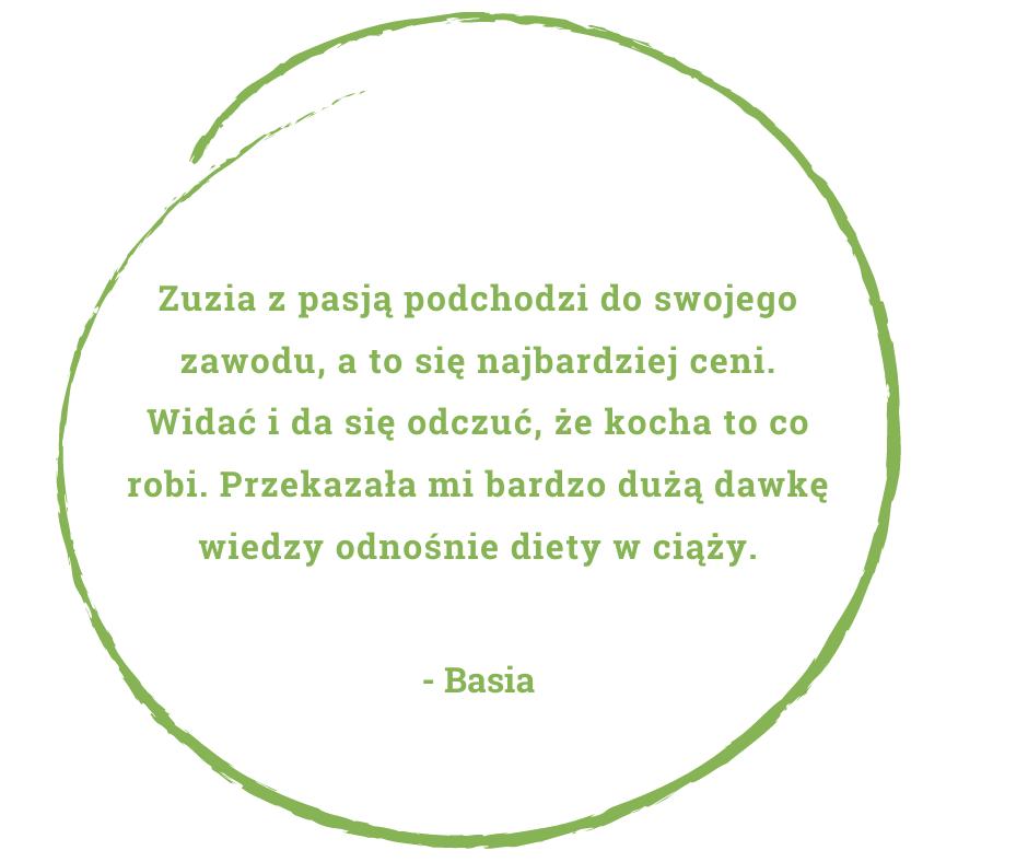 dietetyk Zuzanna Skonieczna - opinia pacjentów Basia