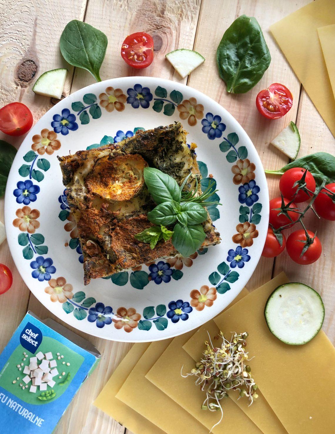 Wegańskie lasagne na żytnim beszamelu