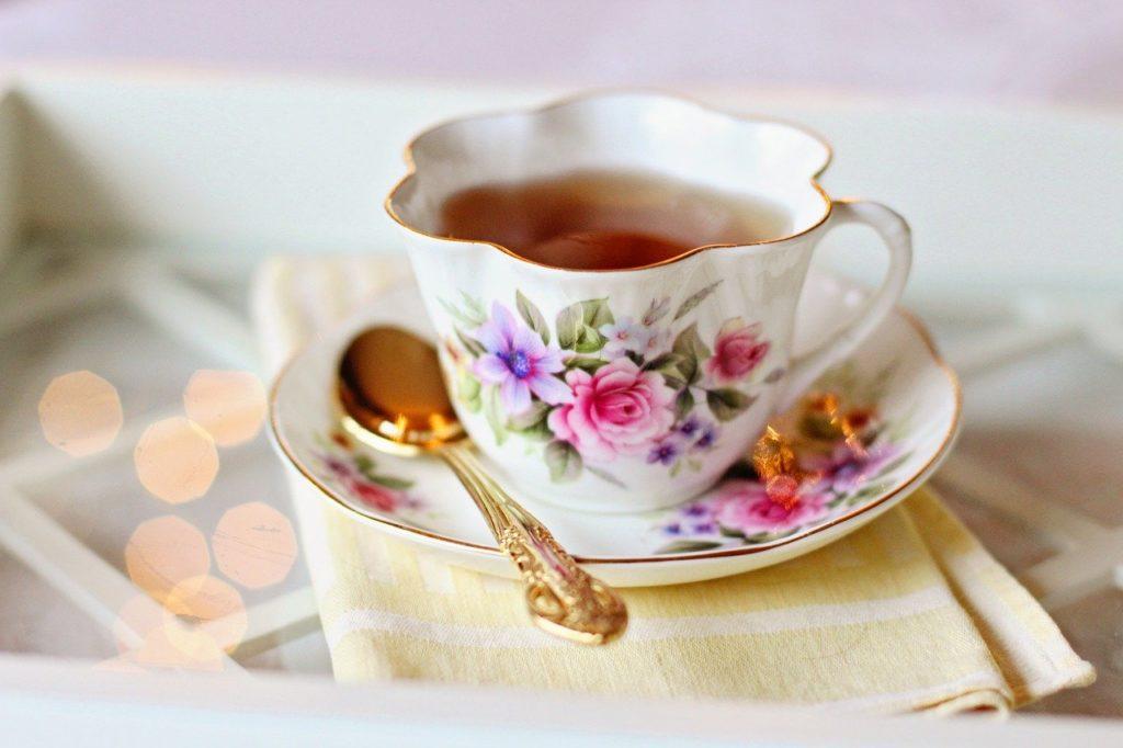 Herbata a trądzik różowaty