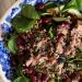 Sałatka z tuńczykiem i fasolą na płodność